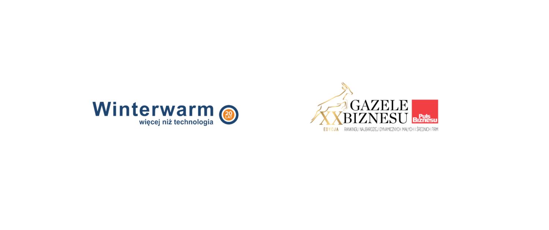 Nagroda Gazele Biznesu 2020 dla firmy Winterwarm Polska.