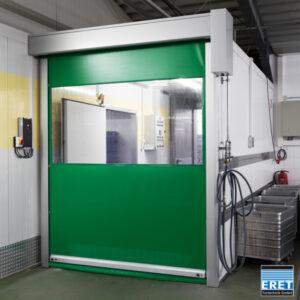 Profesjonalna brama szybkobieżna do najwyższych obciążeń Proline w kolorze zielonym.